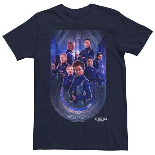 Men's Star Trek Discovery Starfleet Poster Graphic Tee