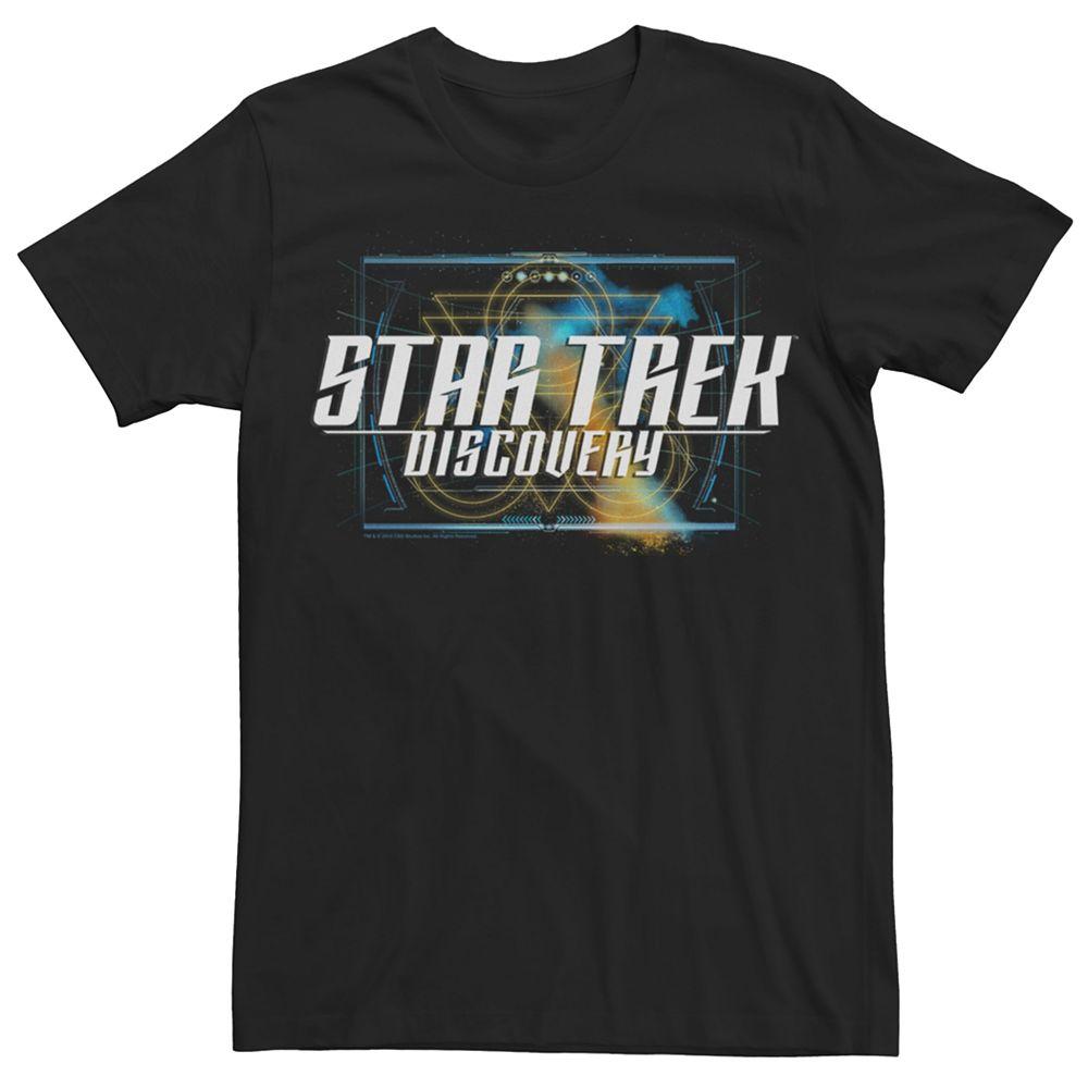 Men's Star Trek Discovery Supreme Logo Graphic Tee
