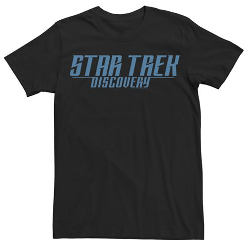 Men's Star Trek Discovery Retro Logo Graphic Tee