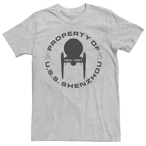 Men's Star Trek Discovery Property of U.S.S. Shenzhou Graphic Tee