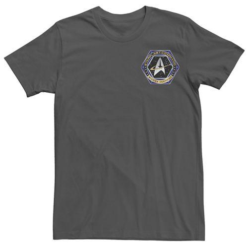 Men's Star Trek Deep Space Mission Graphic Tee