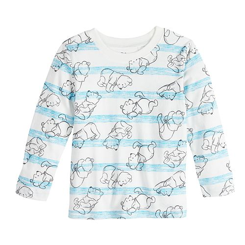 Disney's Winnie the Pooh Baby Boy Striped Graphic Tee by Jumping Beans®