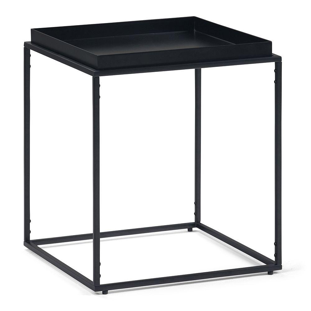 Simpli Home Garner Tray Top End Table