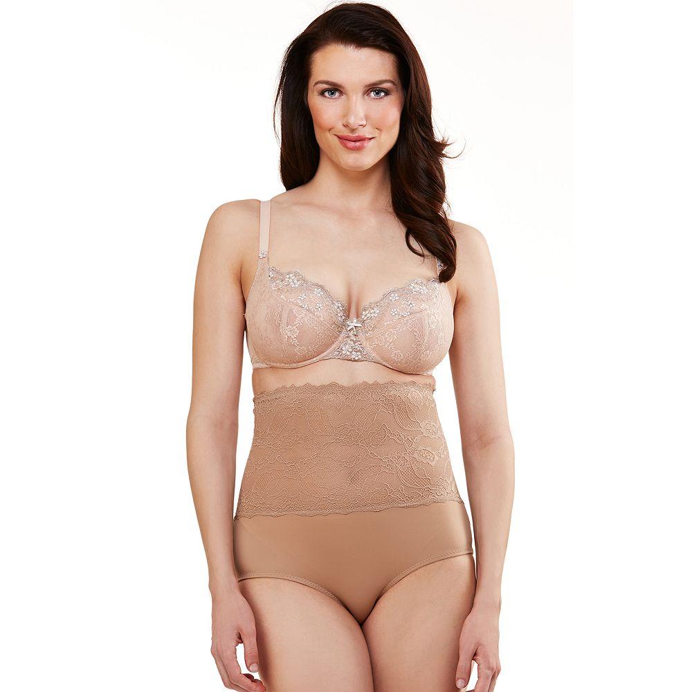 Women's Lunaire Lace Top Control Brief 7301K