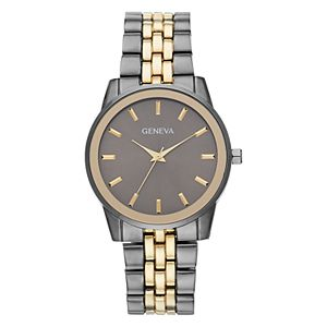 Geneva Mens' Two Tone Link Watch - KH8169GUG