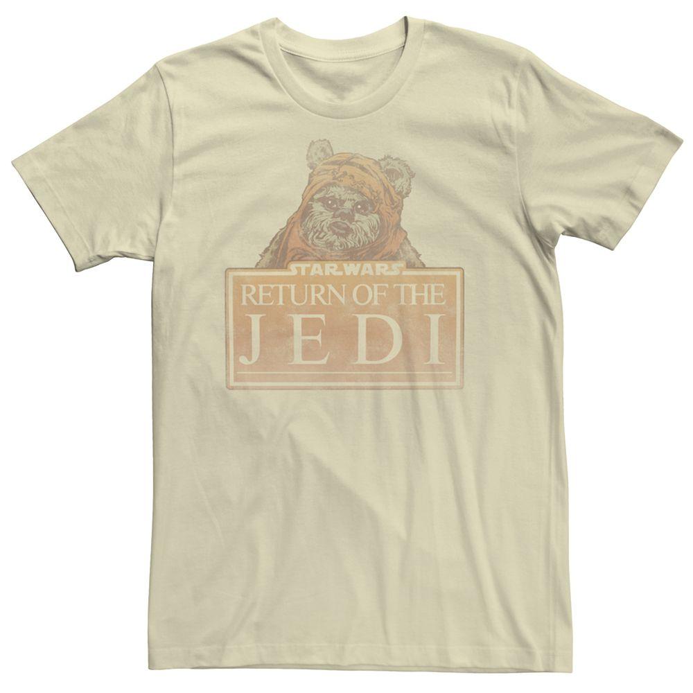Men's Stars Return of the Jedi Ewok Tee