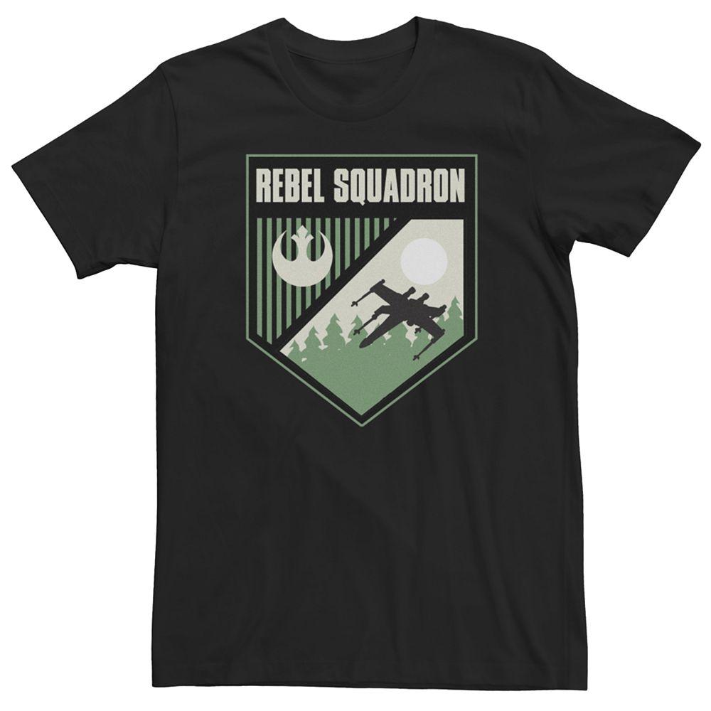 Men's Star Wars Rebel Squad Shield Tee