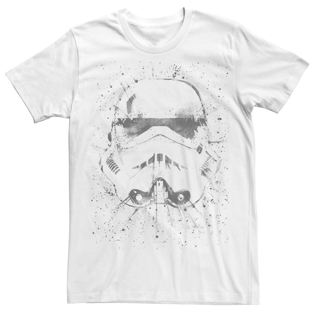 Men's Star Wars Stormtrooper Splatter Tee