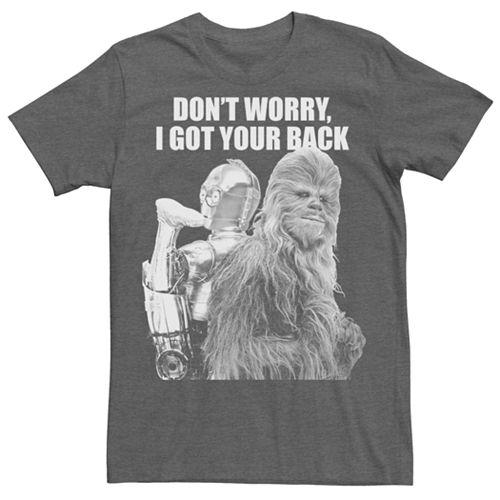 Men's Star Wars Chewbacca Got Your Back Tee