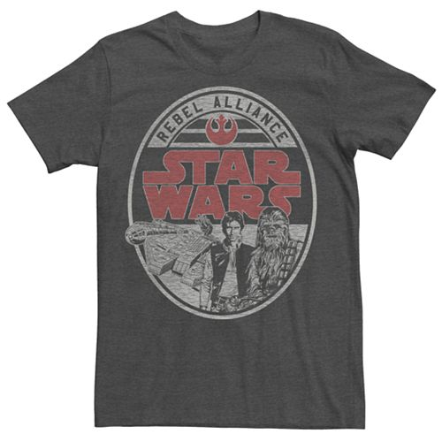 Men's Star Wars Rebel Alliance Oval Logo Tee