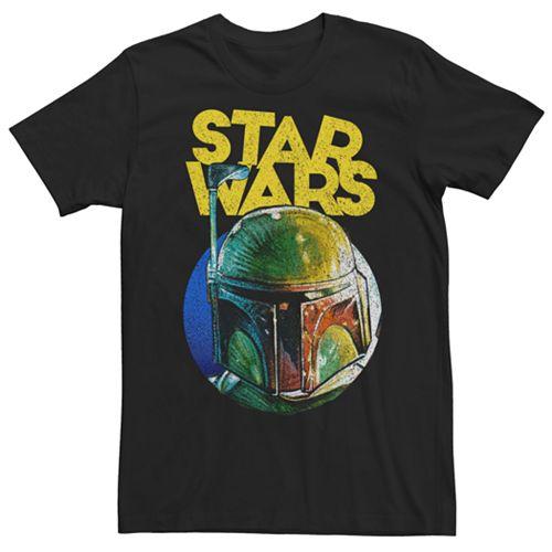 Men's Star Wars Boba Fett Helmet Tee