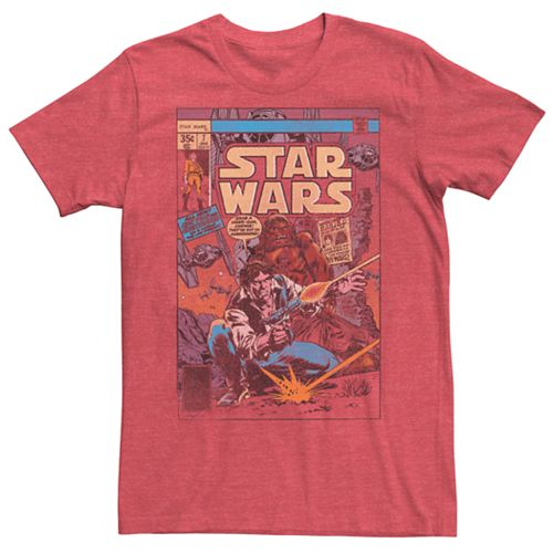 Men's Star Wars Comic Book Tee