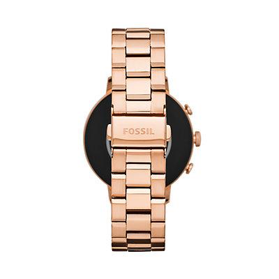 Fossil Women's Venture Gen 4 Stainless Steel Smart Watch - FTW6018