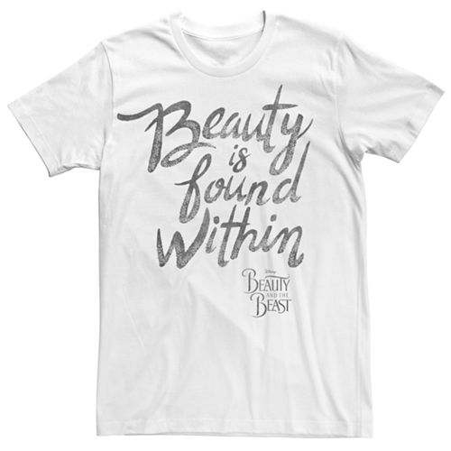 Men's Beauty And The Beast Beauty Is Found Within Tee