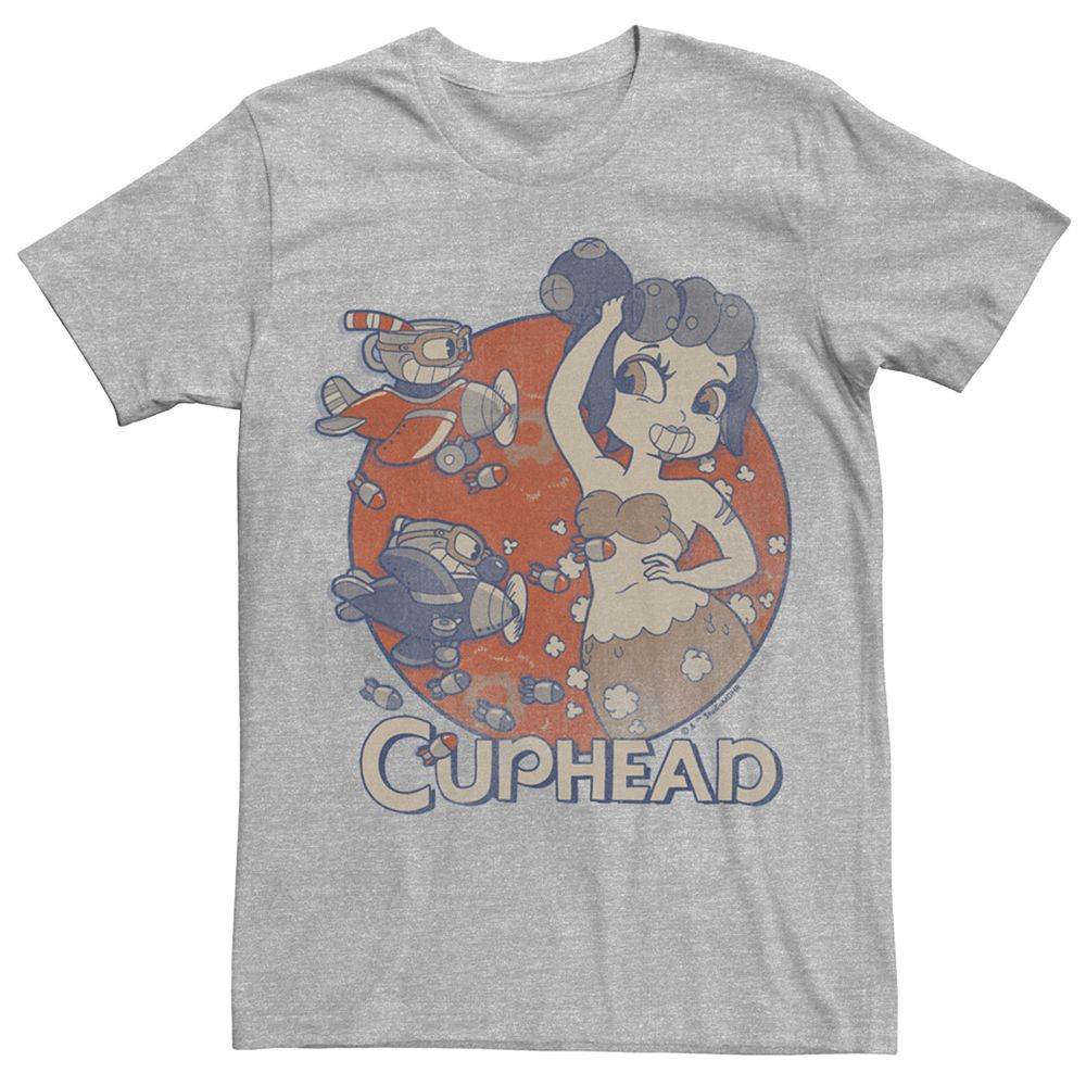 Men's Cuphead Bombs Away Tee