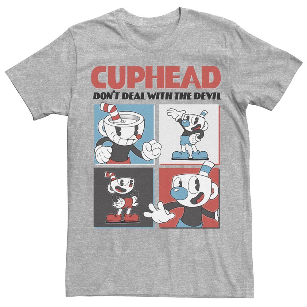 Men's Cuphead Four Cup Mug Tee