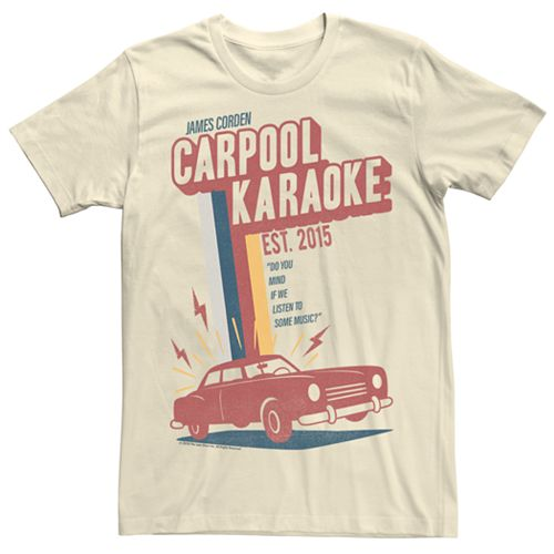 Men's The Late Late Show with James Corden Retro Tee