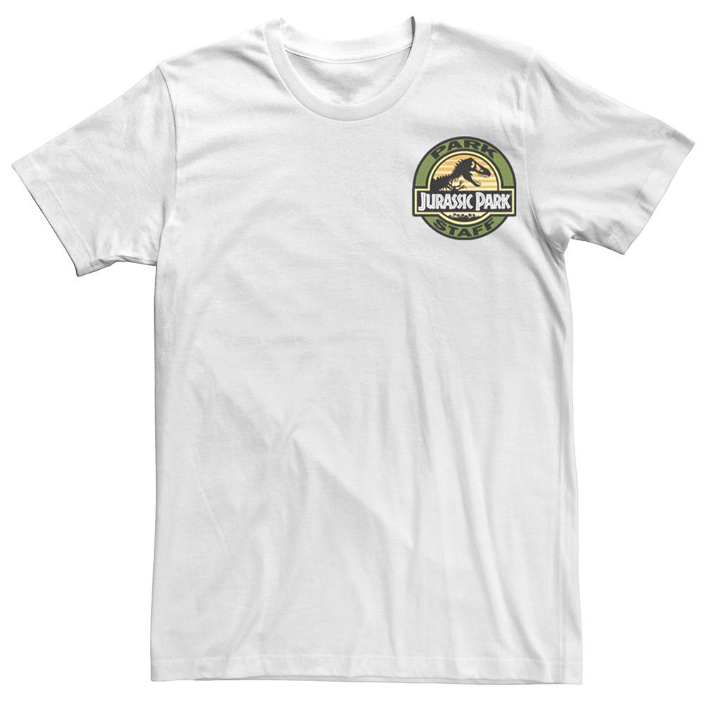 Men's Teen Guys Jurassic Park Patch Tee
