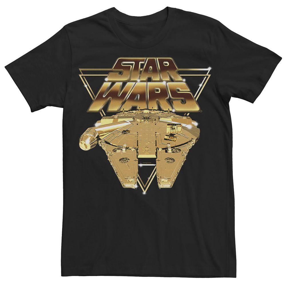 Men's Star Wars Episode 8 Gold Flack Tee