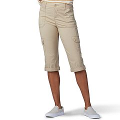 86ed7e12 Women's Lee Flex-To-Go Cargo Skimmer Capris