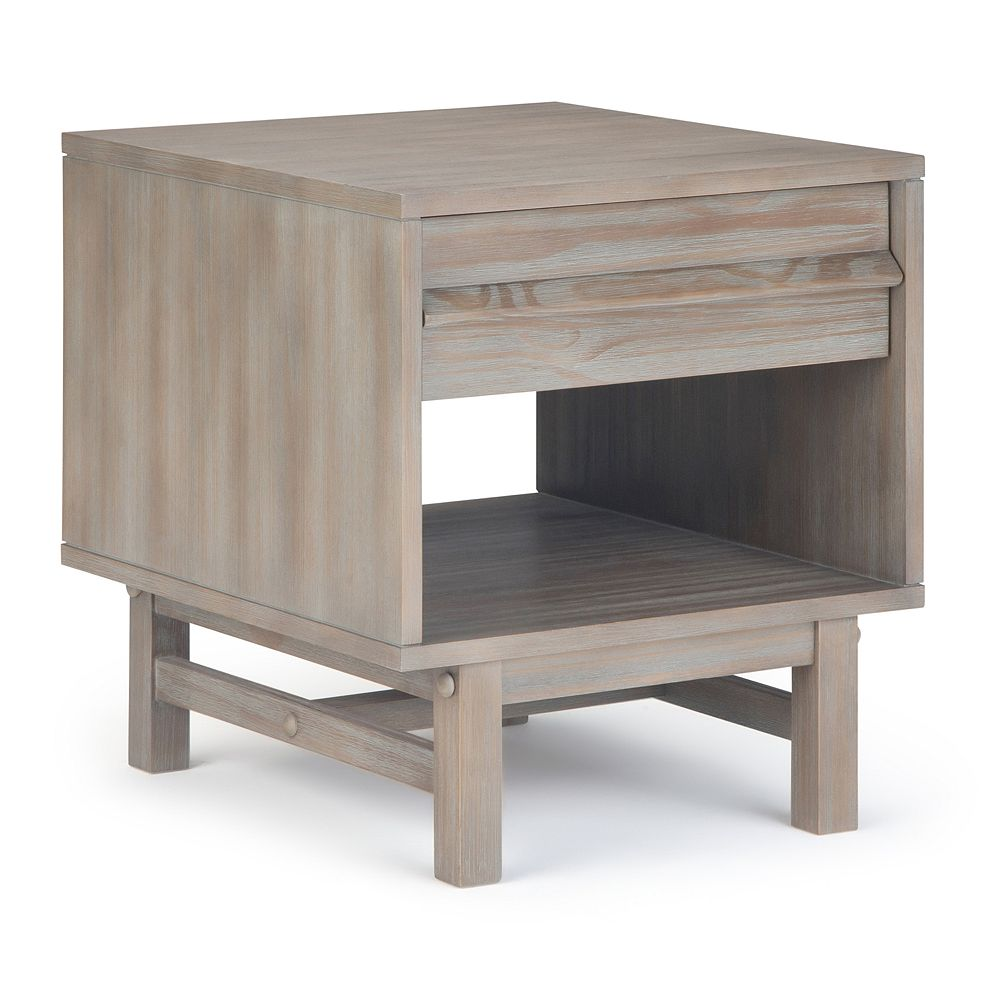 Simpli Home Tabler Solid Wood End Table