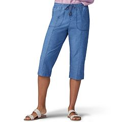 cf134bfd Women's Lee Flex-To-Go Pull-On Drawstring Skimmer Capris