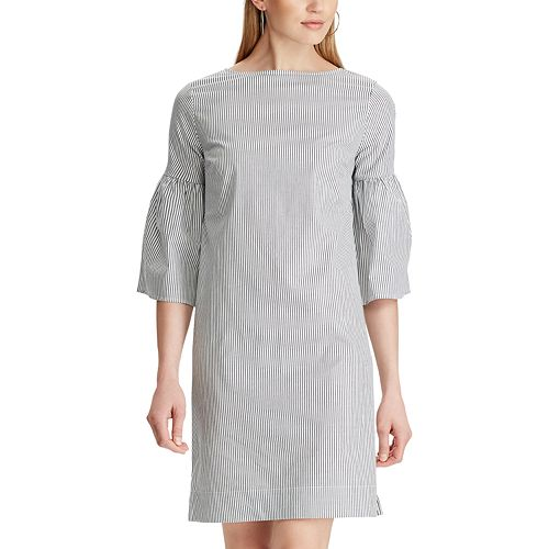 Womens Chaps Short Sleeve Woven Dress