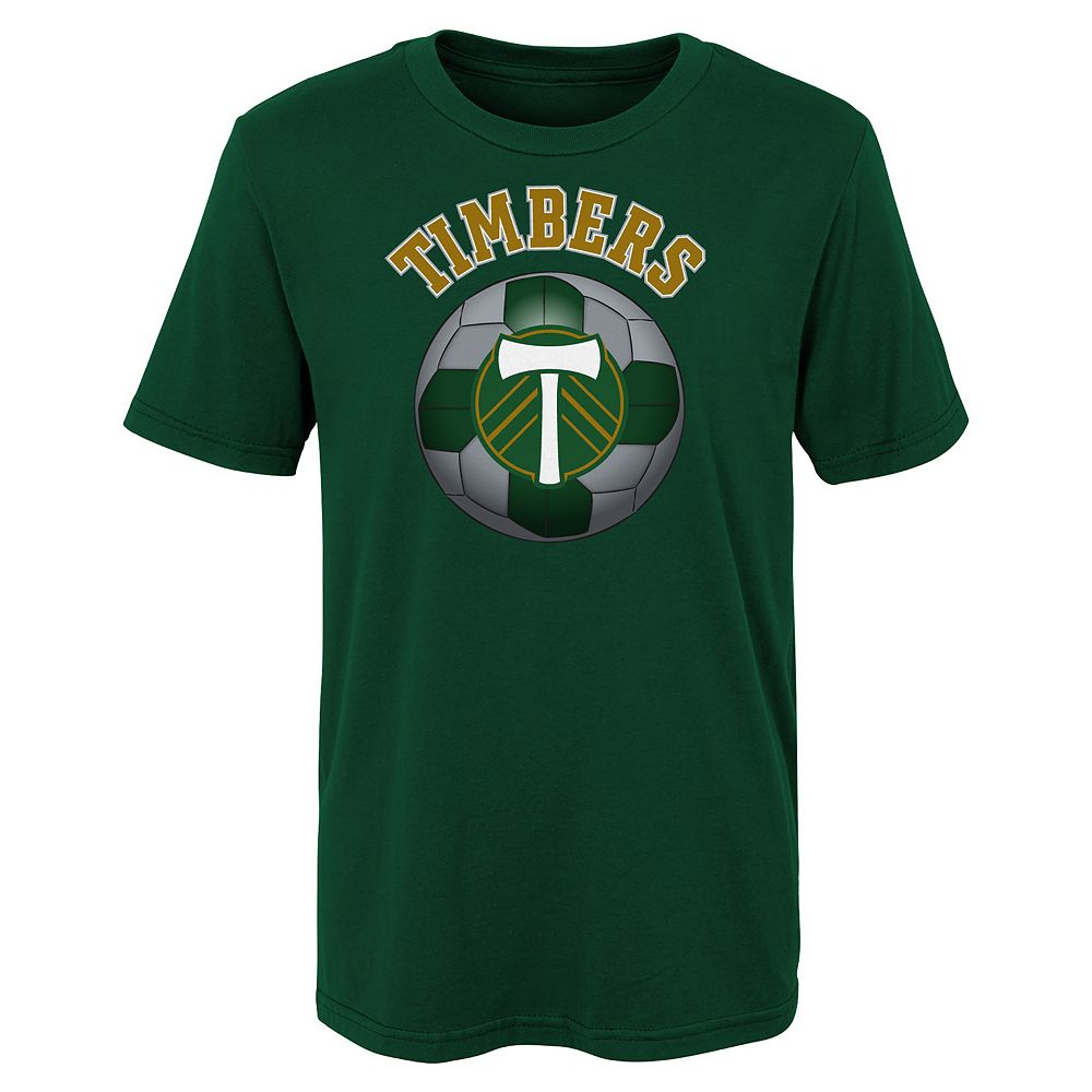 Boys 8-20 Portland Timbers Game Ready MLS Tee