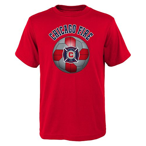 Boys 8-20 Chicago Fire Game Ready MLS Tee