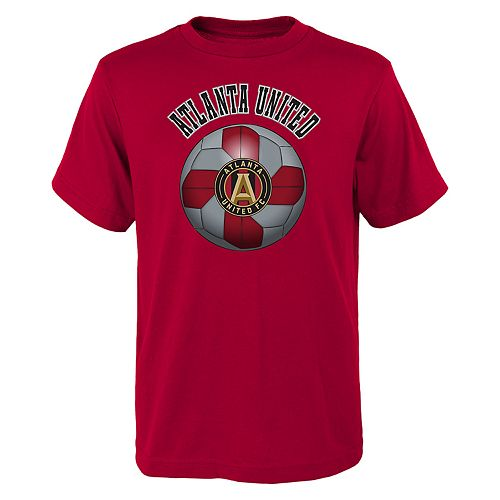 Boys 8-20 Atlanta United FC Game Ready MLS Tee