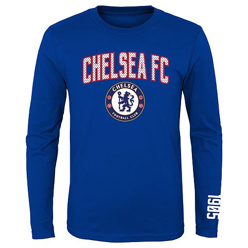 Boys 8-20 International Soccer Chelsea Football Club Tee