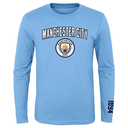 Boys 8-20 International Soccer Manchester City Football Club Tee