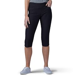 022a9b43 Women's Lee Sculpting Twill Pull-On Skimmer Capris