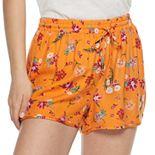 Juniors' Pink Republic Soft Woven Shorts