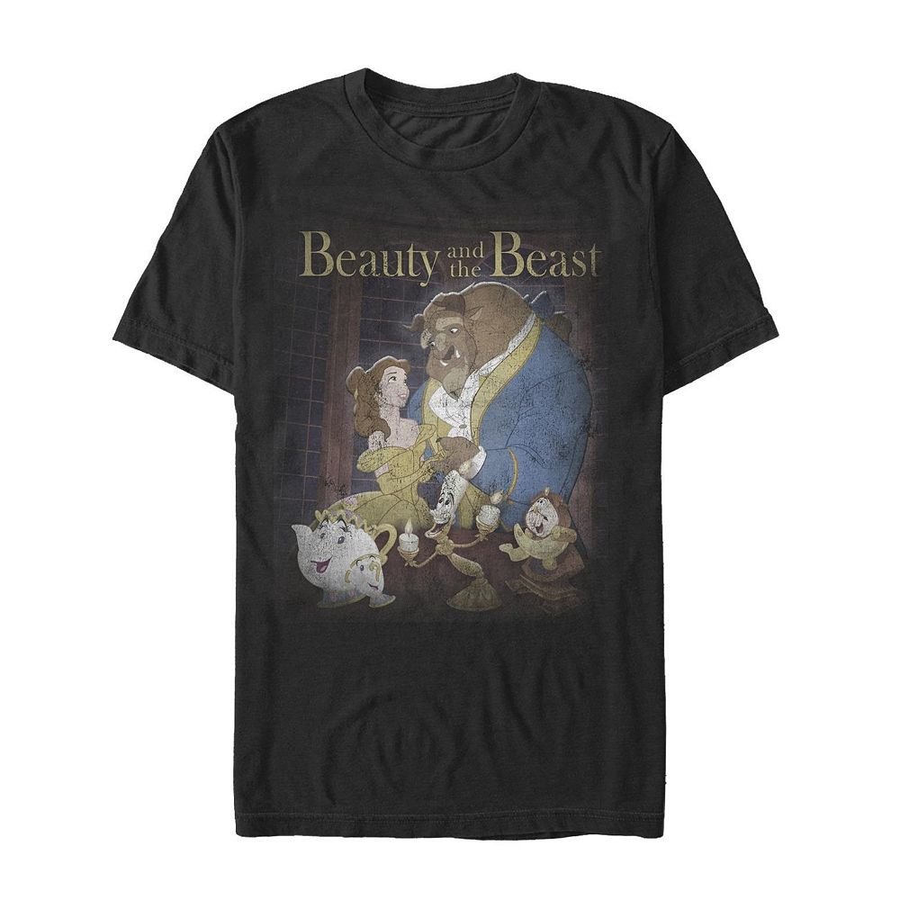 Men's Beauty and the Beast Poster Tee