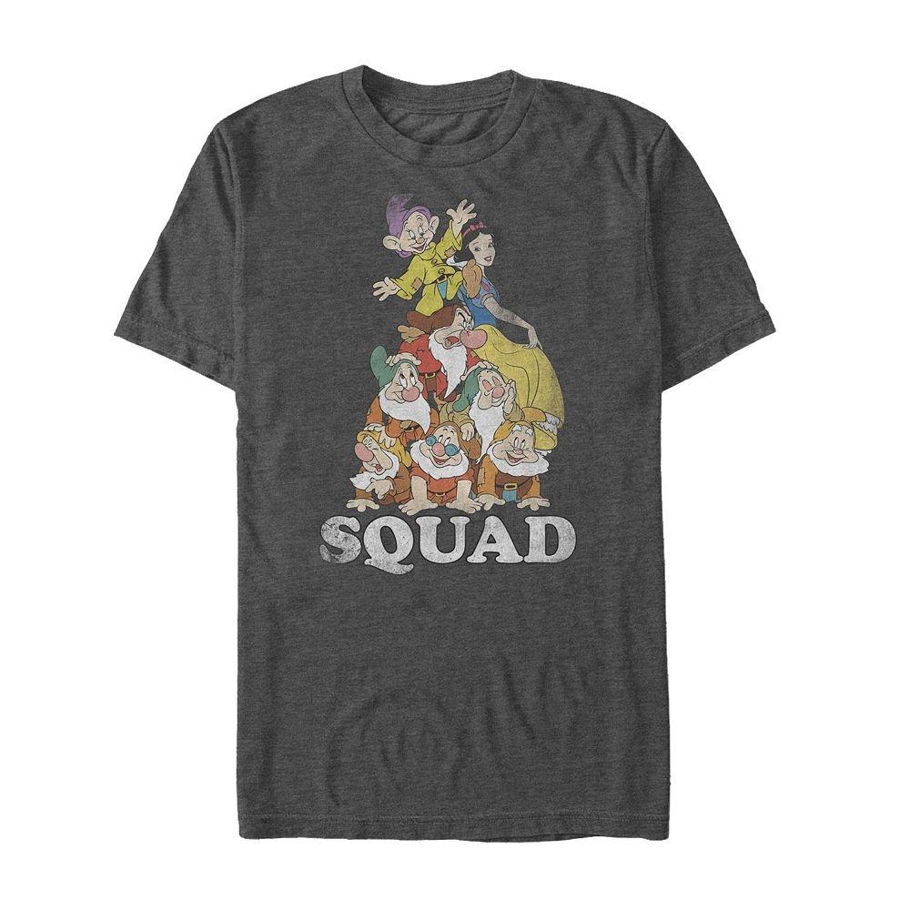 Men's Snow White Dwarf Squad Tee