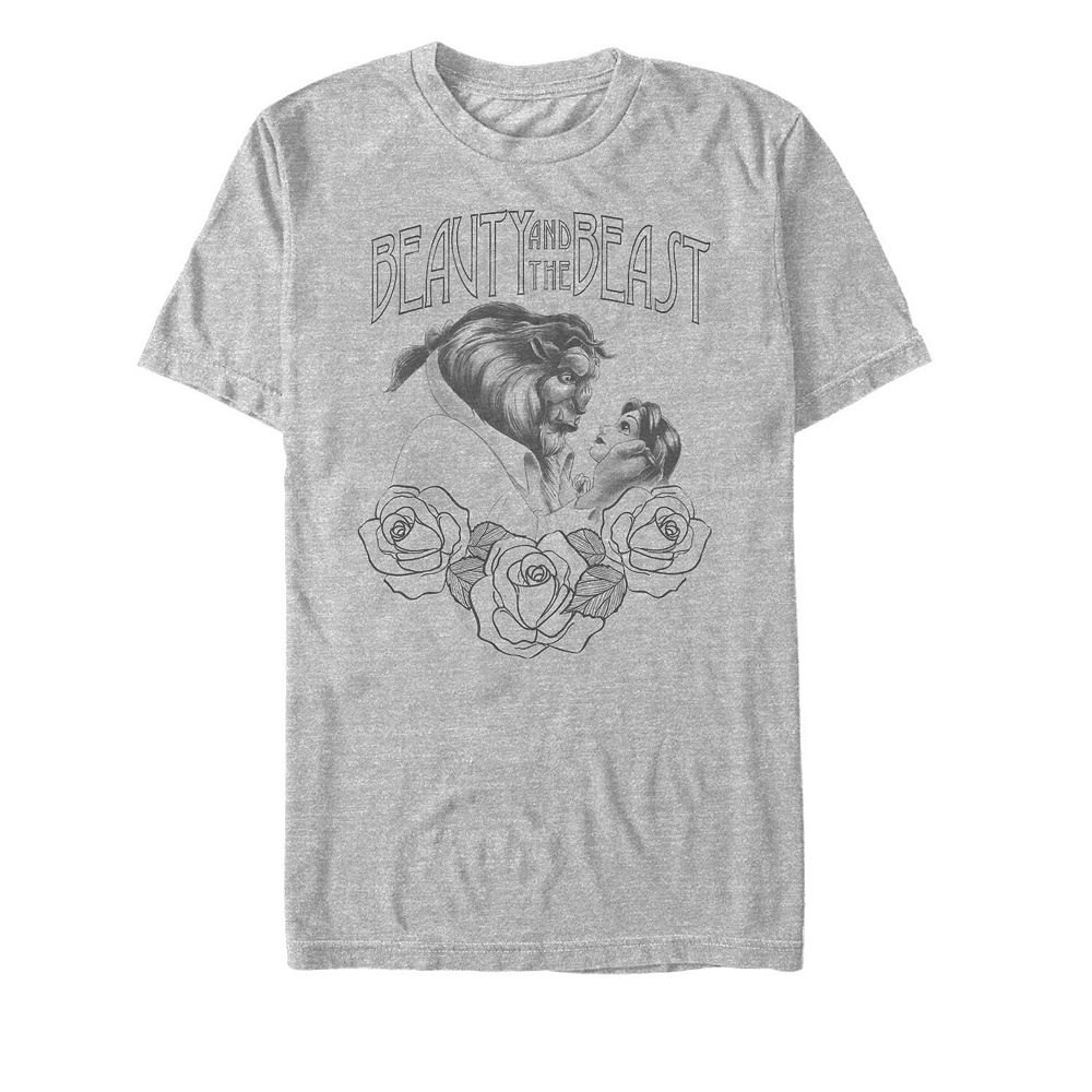 Men's Beauty and the Beast Sketch Tee