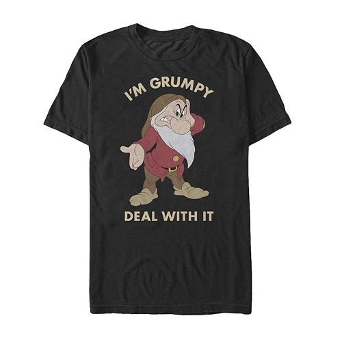 Men's Snow White and the Seven Dwarves Grumpy Tee