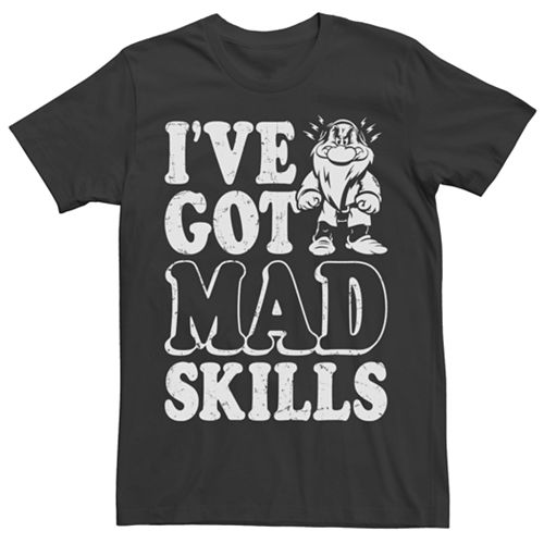 Men's Snow White and the Seven Dwarves Mad Skills Tee