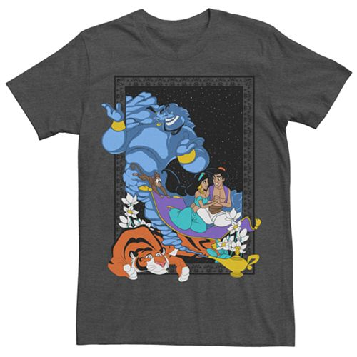 Men's Aladdin Poster In The Lamp Tee