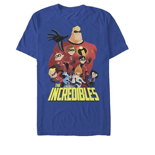 Men's Disney Pixar Incredibles Group Shot Tee