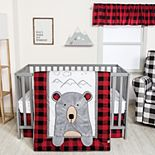 Trend Lab Peak-a-Bear 3 Piece Crib Bedding Set