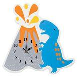 Trend Lab Dinosaur Volcano Wall Clock