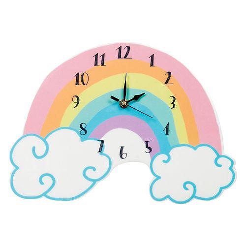 Trend Lab Rainbow Wall Clock