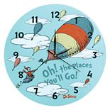 Trend Lab Dr. Seuss Oh, the Places You'll Go Unisex Wall Clock