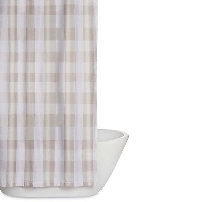 Truly Soft Everyday Buffalo Plaid Shower Curtain