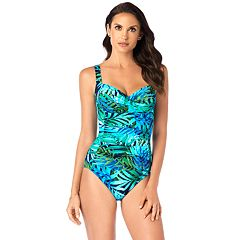 00a3b410a Women's Croft & Barrow® Averi All Over Control One-Piece Swimsuit