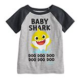 "Toddler Boy Jumping Beans® ""Baby Shark Doo Doo Doo Doo"" Raglan Graphic Tee"