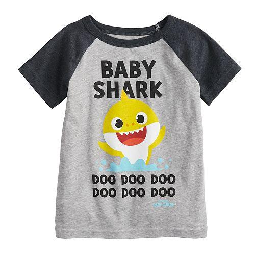 "Toddler Boy Jumping Beans® ""Baby Shark Doo Doo Doo Doo"" Raglan Graphic Tee"