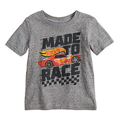 Toddler Boy Jumping Beans® Hot Wheels 'Made To Race' Graphic Tee
